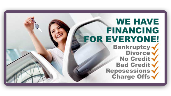 We Finance for everyone