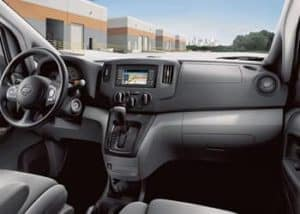 Commercial NV200 Dash