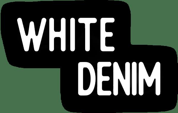 White Denim Title