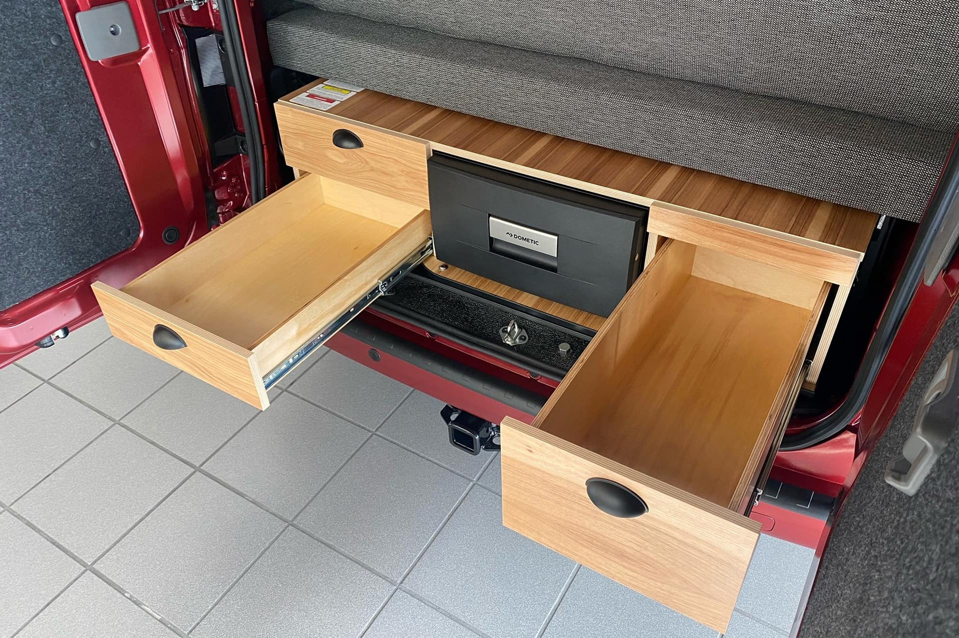 Two extra storage doors in the Kitchen Box