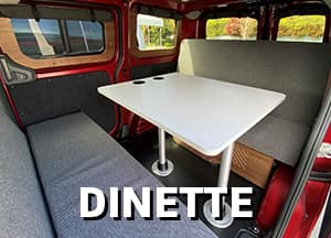 converting to dinette
