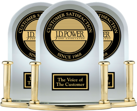 Chevy J.D. POWER AWARD RECIPIENT