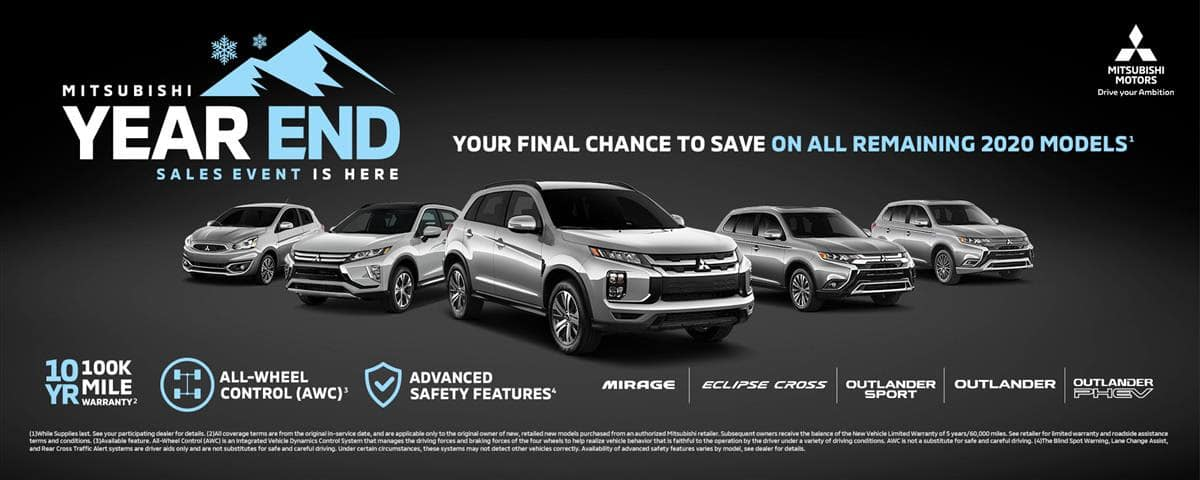 mitsubishi year end sales event