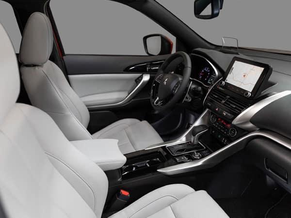 2022 Mitsubishi Eclipse Cross Interior & Front Seats