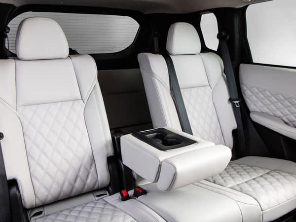 2022 Mitsubishi Outlander Second-Row Seating