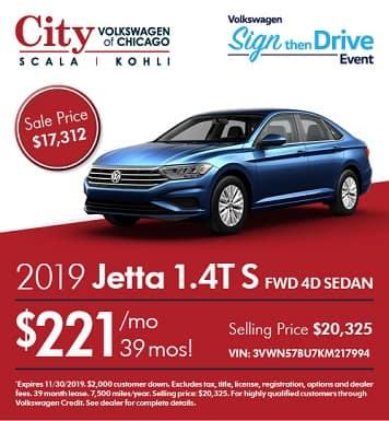 2019 Volkswagen Jetta 1.4 S FWD