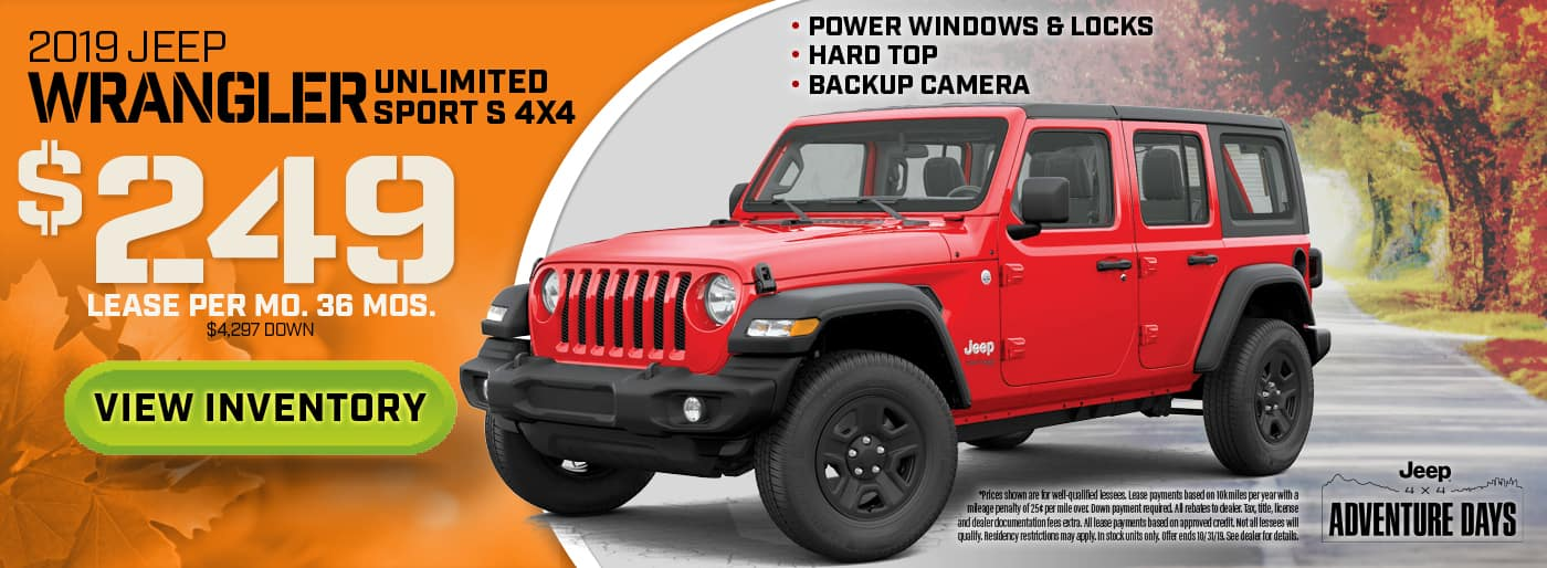 2019 Jeep Wrangler Special in Madison, OH