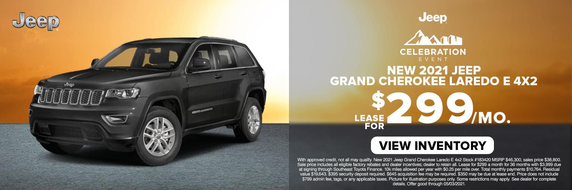 CLCP-April 2021-2020 Jeep Grand Cherokee