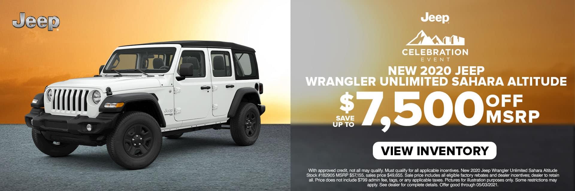 CLCP-April 2021-2021 Jeep Wrangler