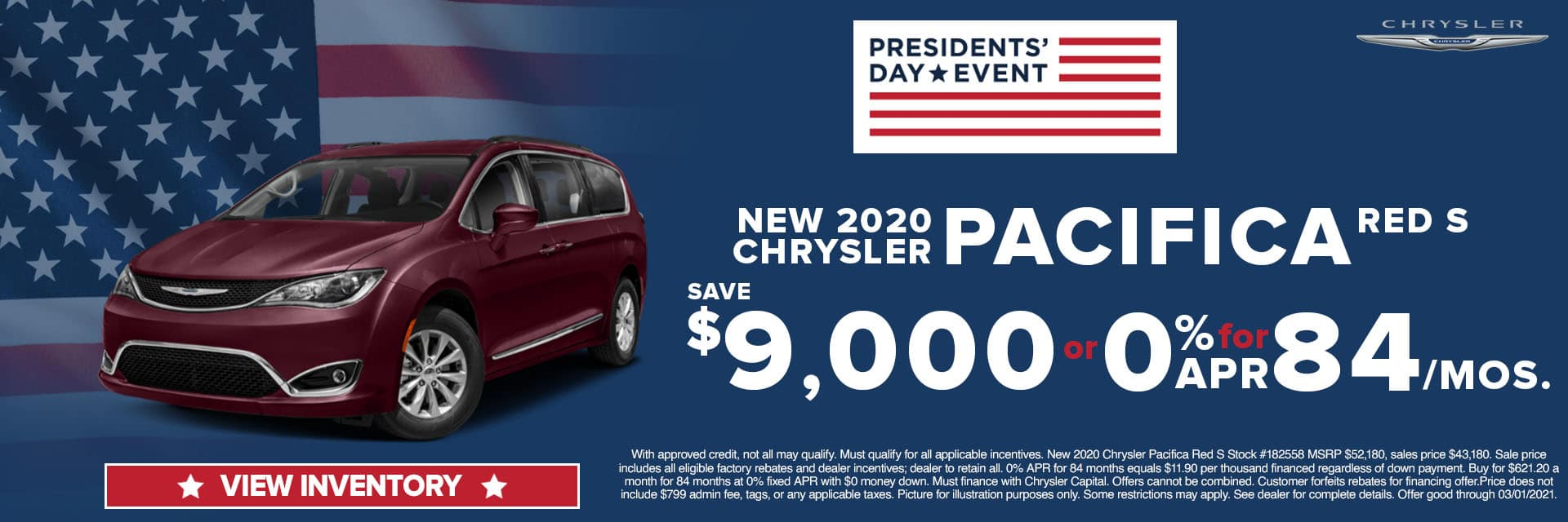 CLCP-February 2021-2020 Chrysler Pacifica