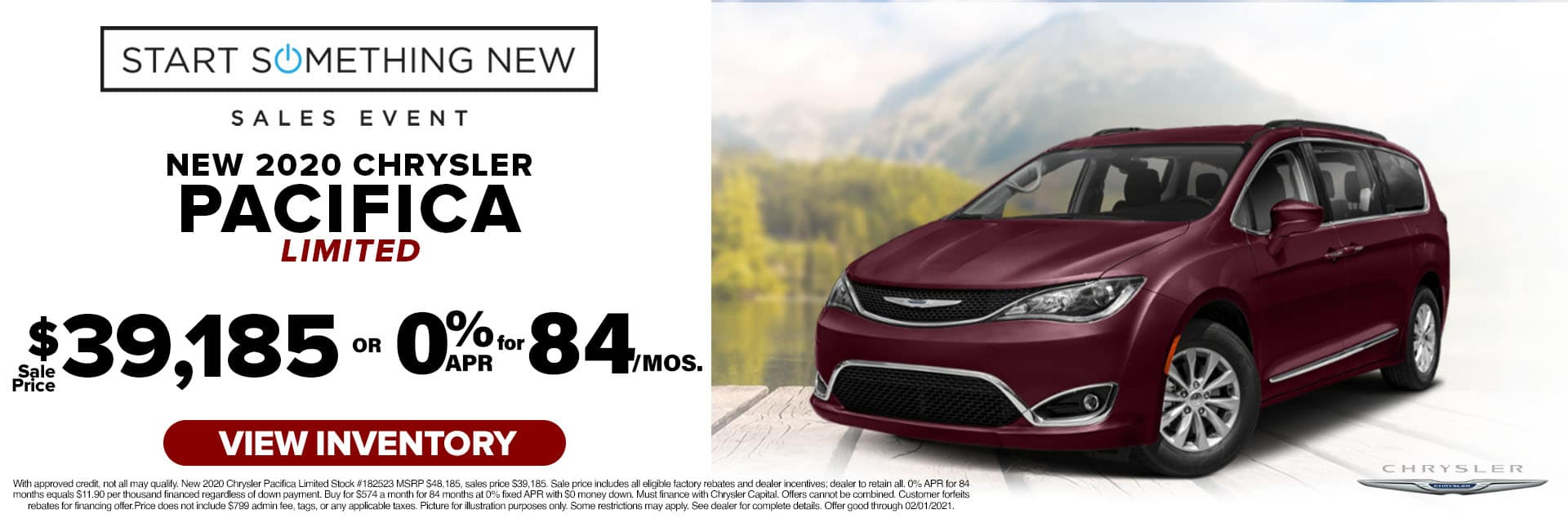 CLCP-January 2021-2020 Chrysler Pacifica