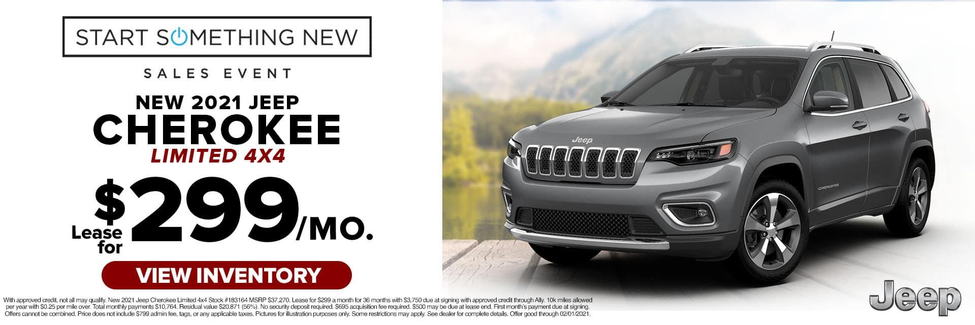 CLCP-January 2021-2020 Jeep Cherokee