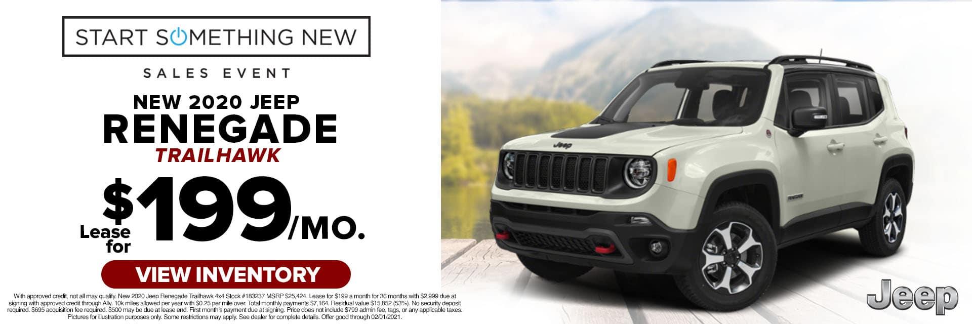 CLCP-January 2021-2020 Jeep Renegade