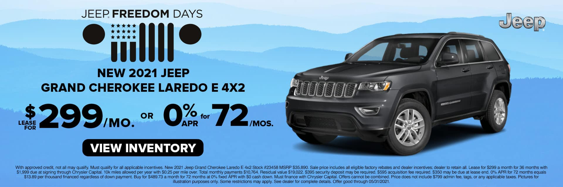 CLCP-May 2021-2021 Jeep Grand Cherokee