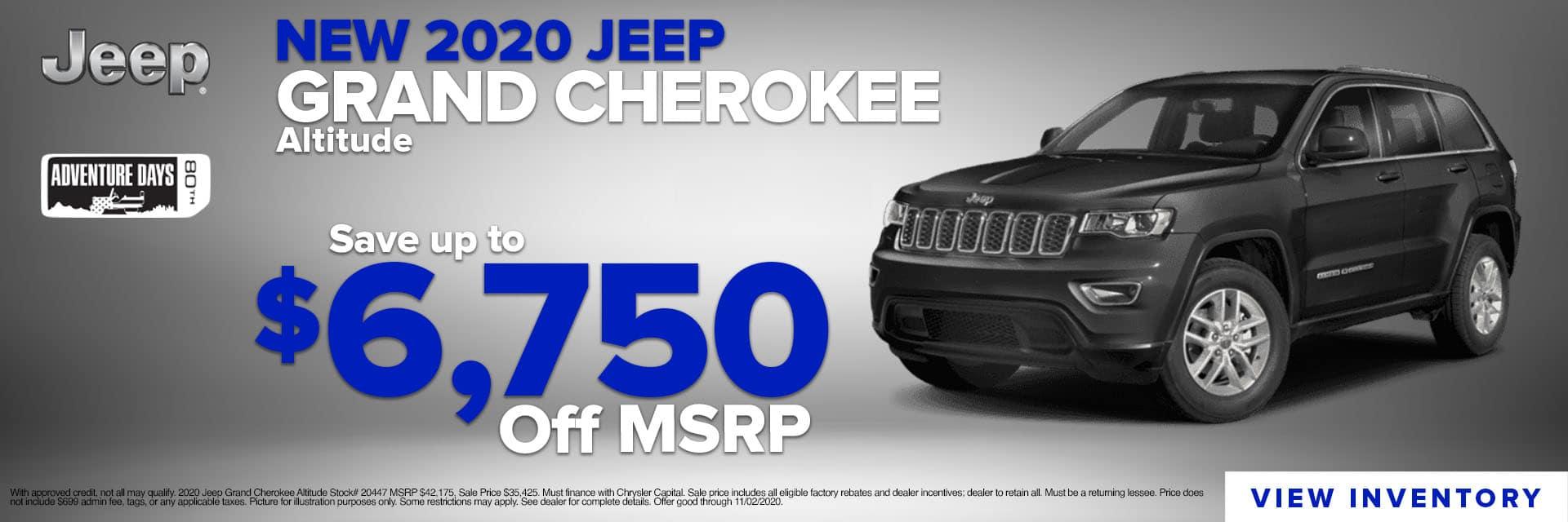 CLGO-October 2020-2020 Jeep Grand Cherokee Inspire Slider