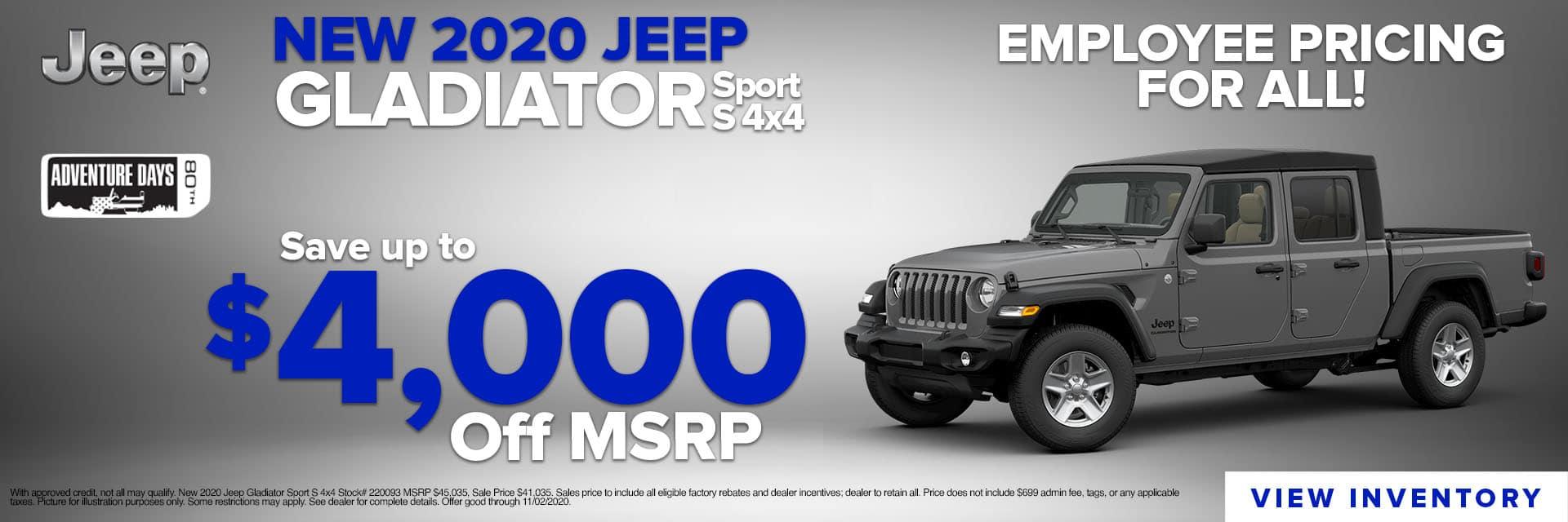 CLGO-October 2020-2020 Jeep Gladiator Inspire Slider UPDATED