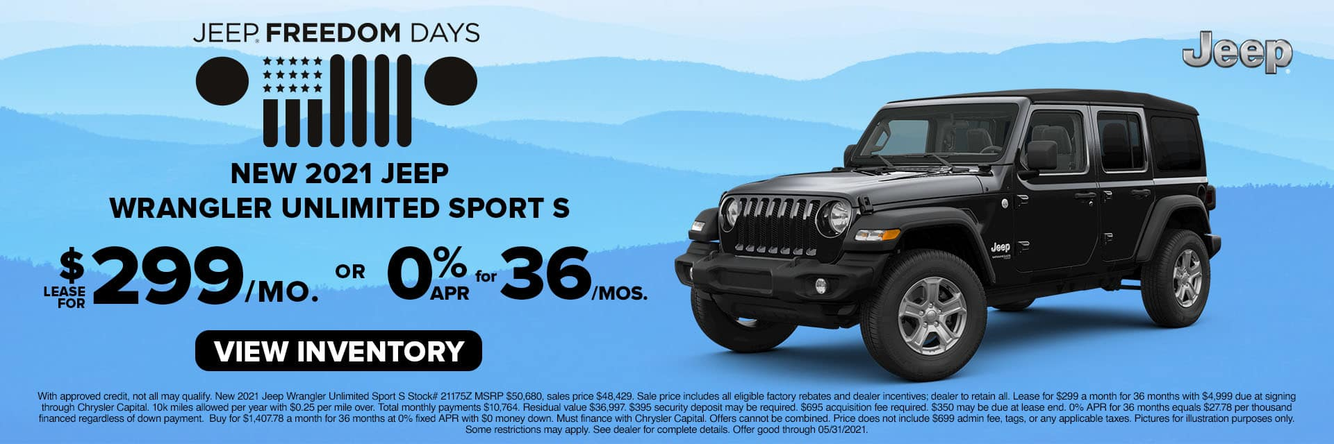 CLGO-May 2021-2021 Jeep Wrangler