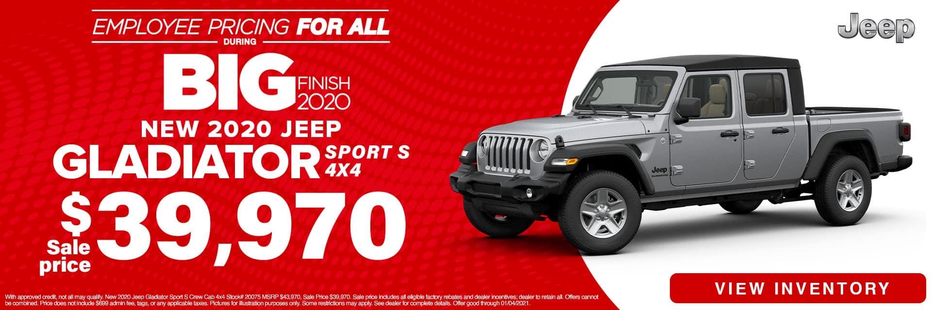 CLGO-December 2020-2020 Jeep Gladiator
