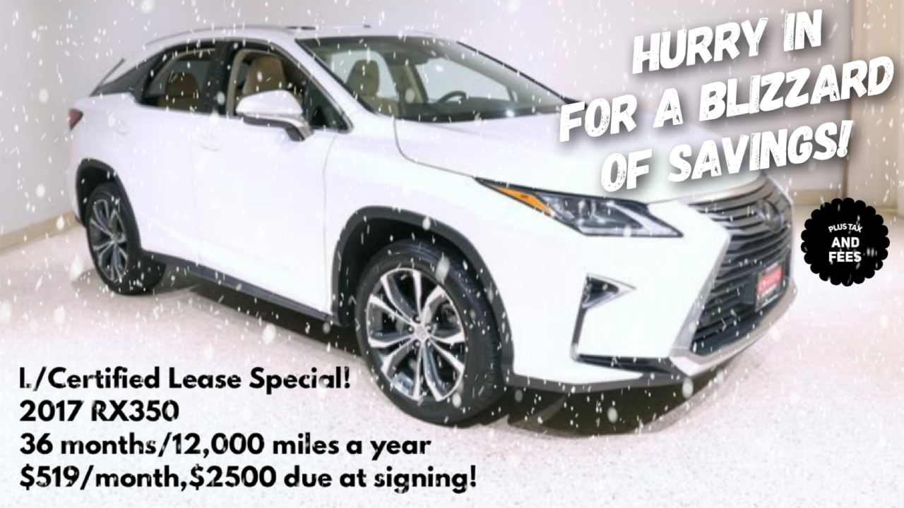 Hurry In For a Blizzard Of Savings