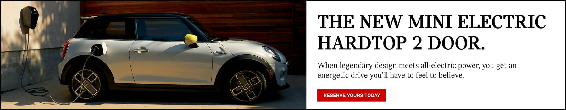 reserve the new mini electric hardtop.