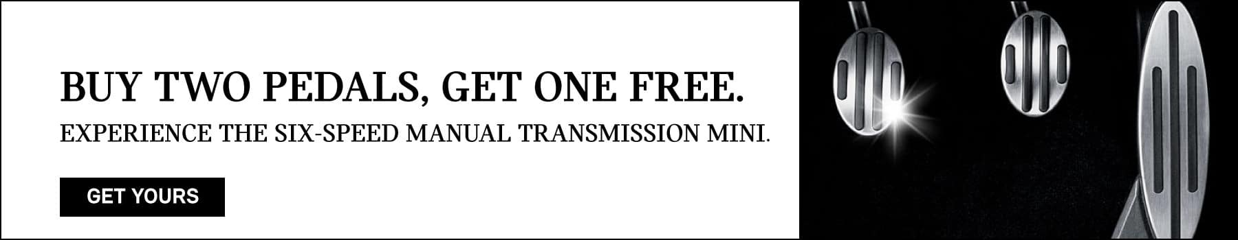 buy one get one - mini pedals