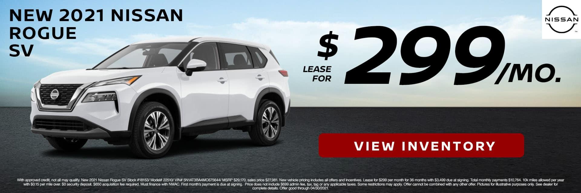 CNSN-April 2021-2021 Nissan Rogue