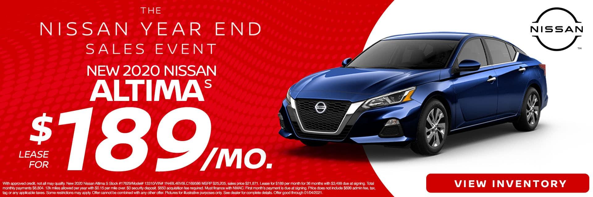 CNSN-December 2020-2020 Nissan Altima