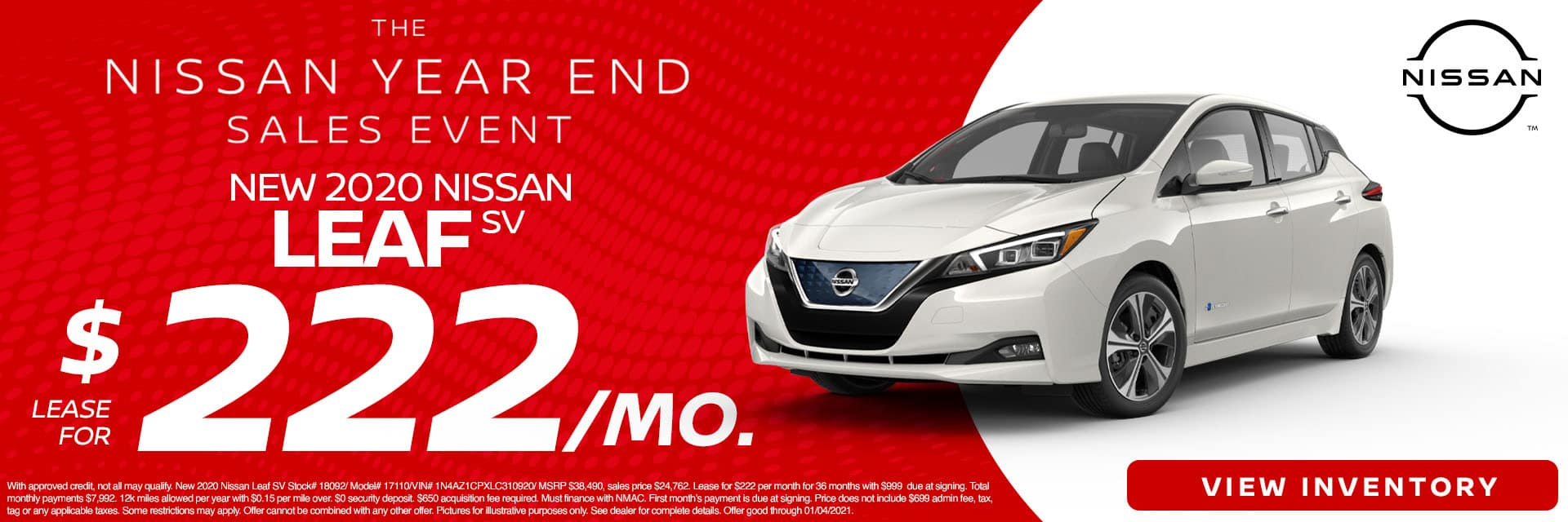 CNSN-December 2020-2020 Nissan Leaf