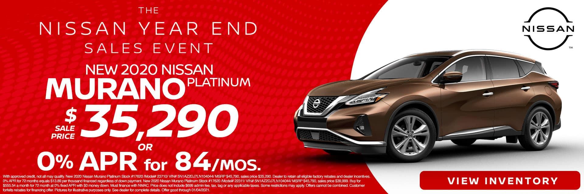 CNSN-December 2020-2020 Nissan Murano