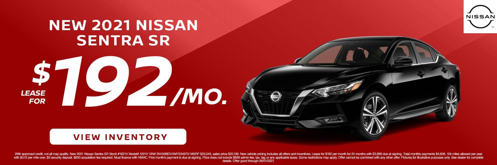 CNSN-May 2021-2021 Nissan Sentra