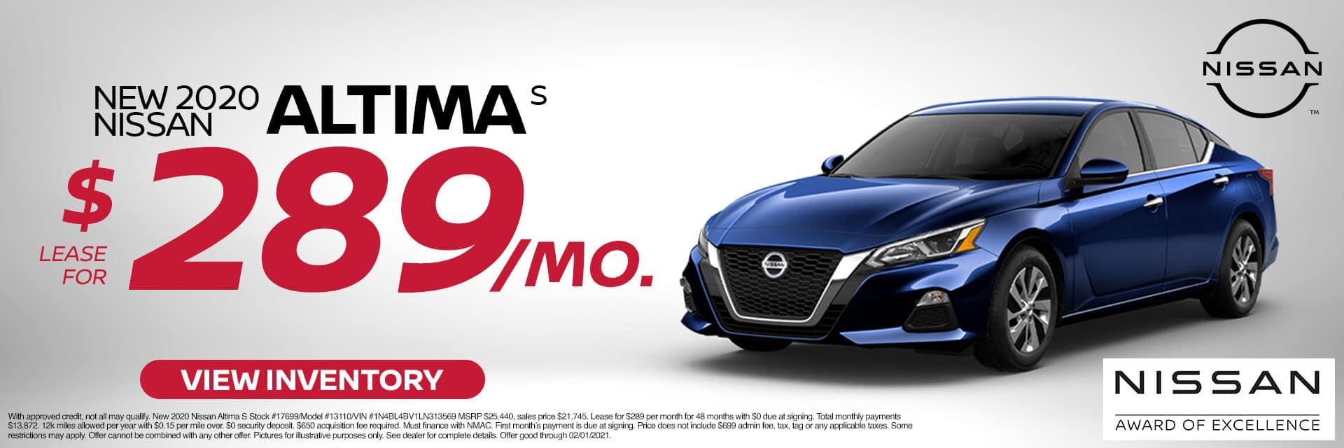 1CNSN-January 2021-2020 Nissan Altima
