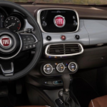 interior of FIAT 500x