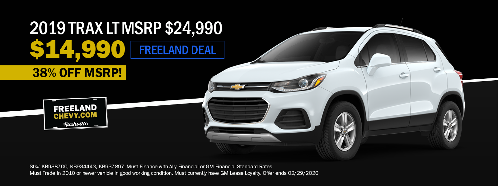 2019 Trax Special
