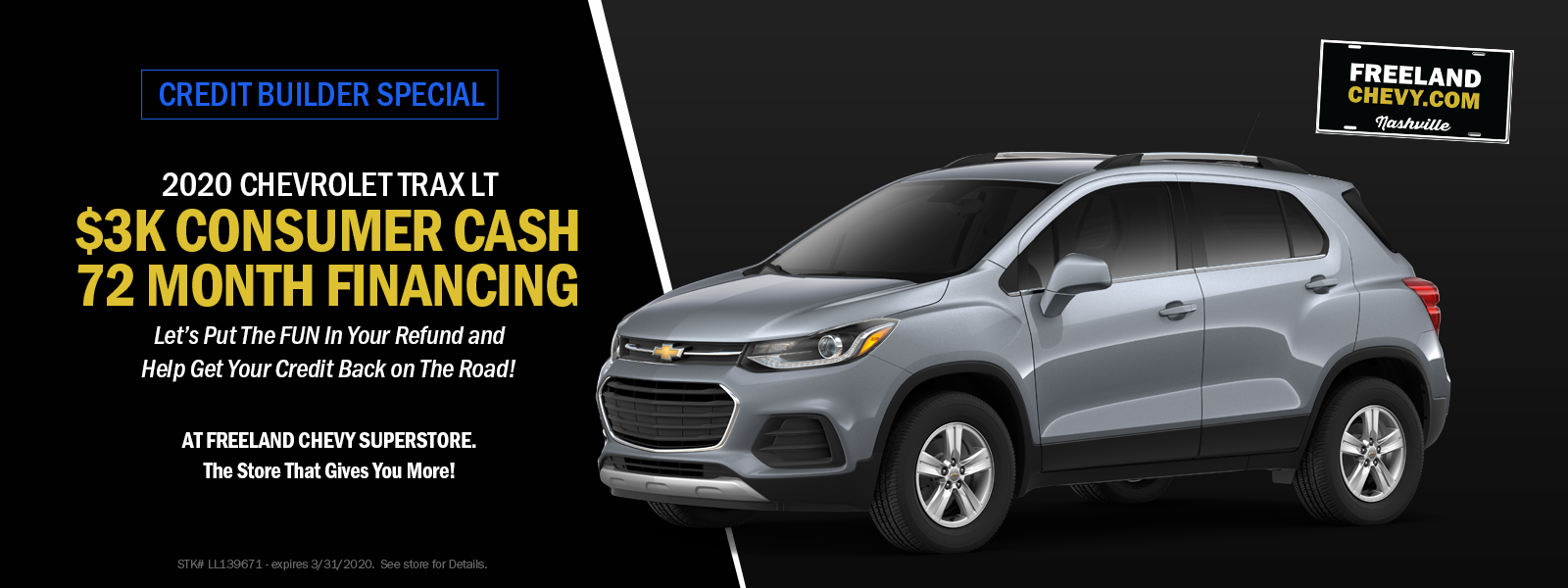 Chevy Trax Specials