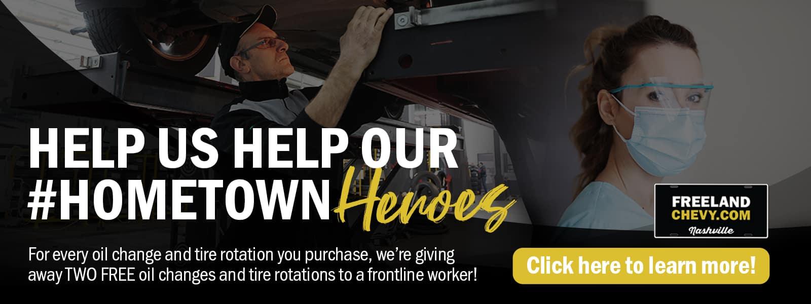Help us help our Hometown Heroes