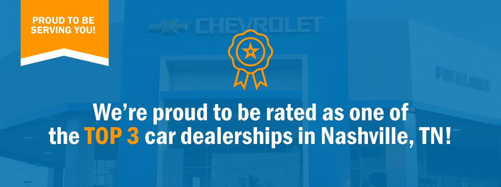 Top 3 Rated Nashville Dealer