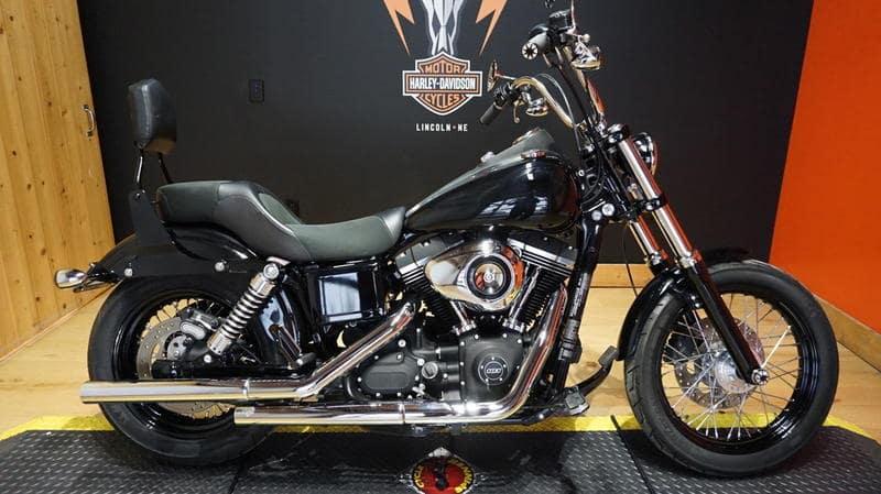Pre-Owned 2016 Harley-Davidson Dyna Street Bob FXDB
