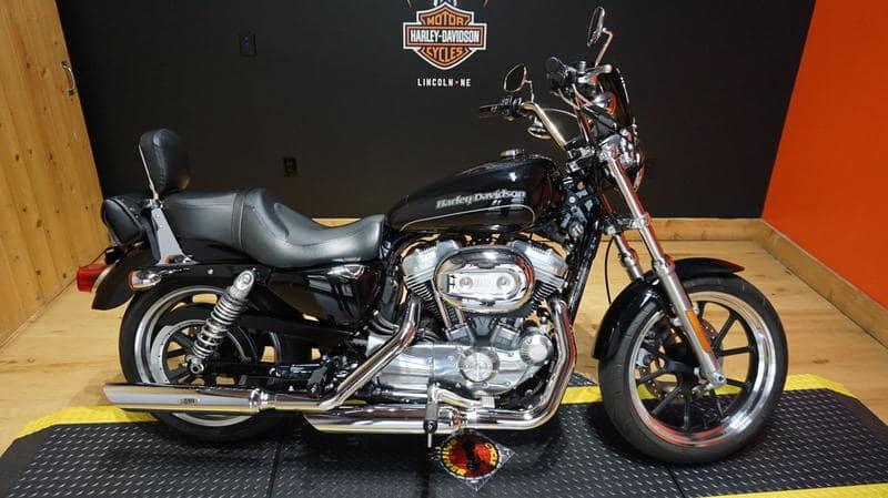 Pre-Owned 2017 Harley-Davidson Sportster SuperLow XL883L