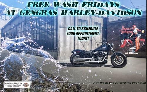 Free wash fridays
