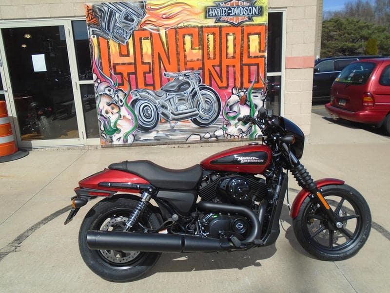 New 2019 Harley-Davidson Street GX500