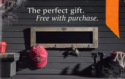The perfect gift, free with purchase