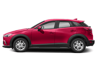 Side view of the Mazda CX-3