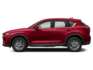Side view of the Mazda CX-5
