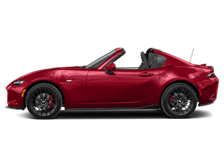 Side view of the Mazda MX-5 Miata RF