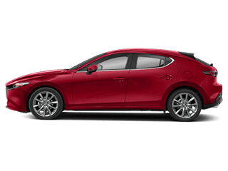 Side view of the Mazda3 Hatchback