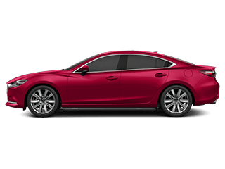 Side view of the Mazda6