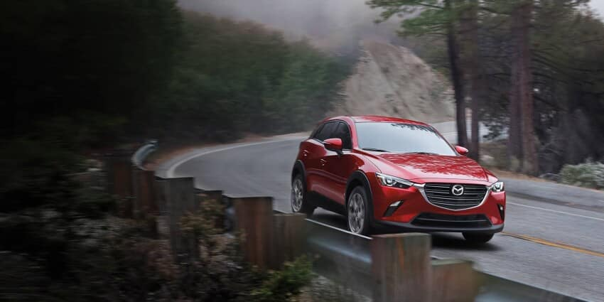 2020 Mazda CX-3 on Highway