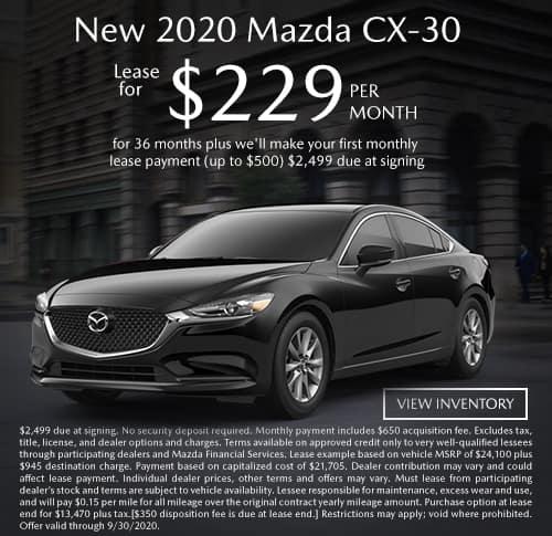 All New 2020 Mazda CX-30