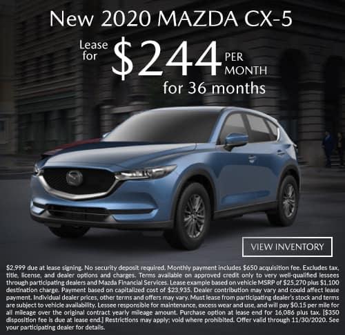 All New 2020 Mazda CX-5