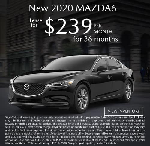 All New 2020 MAZDA6